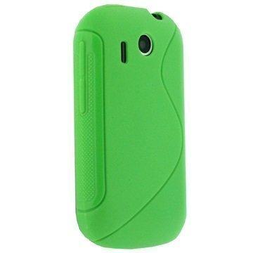 HTC Explorer iGadgitz Dual Tone TPU Cover Green
