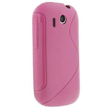 HTC Explorer iGadgitz Dual Tone TPU Cover Pink