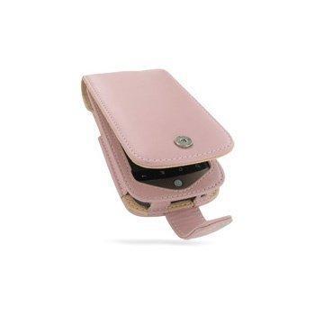 HTC Google Nexus One PDair Leather Case 3JHTNSF41 Vaaleanpunainen
