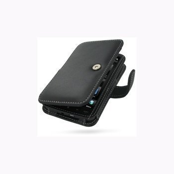 HTC HD2 PDair Leather Case 3BHTH2B41 Musta