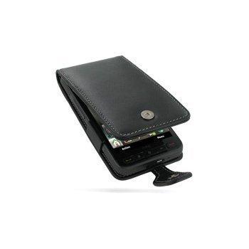 HTC HD2 PDair Leather Case 3BHTTDF41 Musta