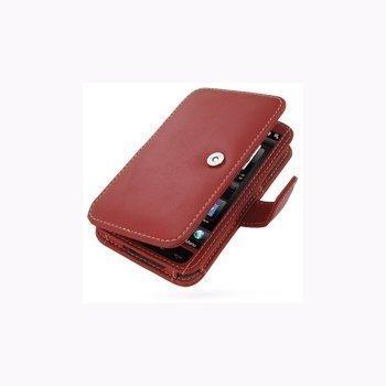 HTC HD2 PDair Leather Case 3RHTH2B41 Punainen