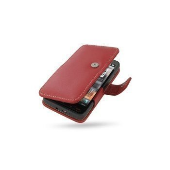 HTC HD2 PDair Leather Case 3RHTTDB41 Punainen