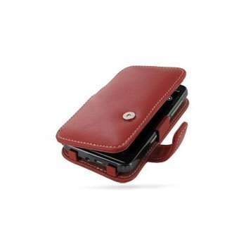 HTC HD7 PDair Leather Case 3RHTD7B41 Punainen