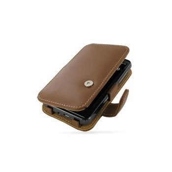 HTC HD7 PDair Leather Case 3THTD7B41 Ruskea