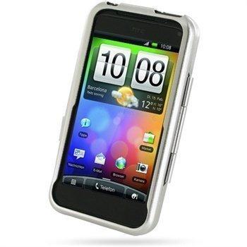 HTC Incredible S Metal Case Hopeinen