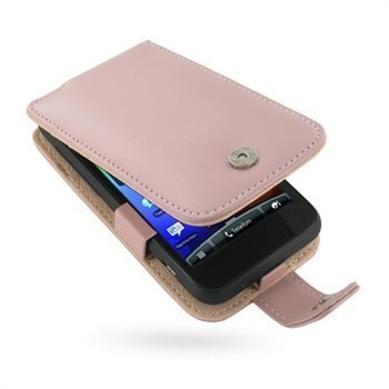 HTC Incredible S PDair Leather Case 3PHTEAF41 Vaaleanpunainen