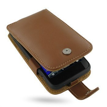 HTC Incredible S PDair Leather Case 3THTEAF41 Ruskea