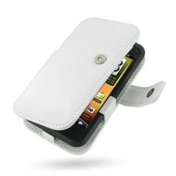 HTC Incredible S PDair Leather Case 3WHTEAB41 Valkoinen