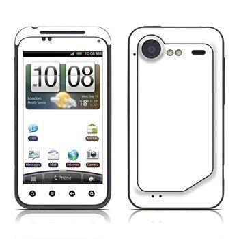 HTC Incredible S Solid State Skin White