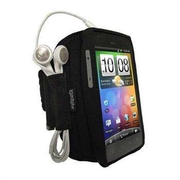 HTC Incredible S iGadgitz Urheilukotelo Käsivarteen Musta