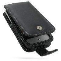 HTC Legend PDair Leather Case 3BHTLDF41 Musta