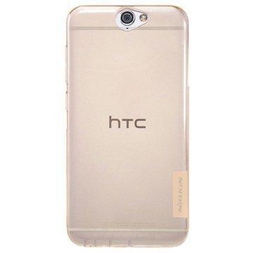 HTC One A9 Nillkin Nature TPU Suojakuori Ruskea