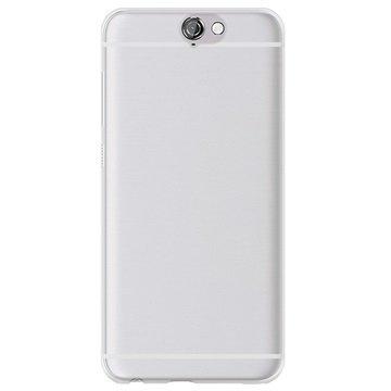 HTC One A9 Puro 0.3 Ultra Slim Silikonikotelo Läpinäkyvä