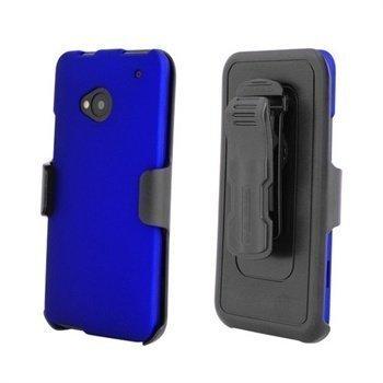 HTC One Beyond Cell Cell 3 In 1 Yhdistelmäkotelo Sininen / Musta
