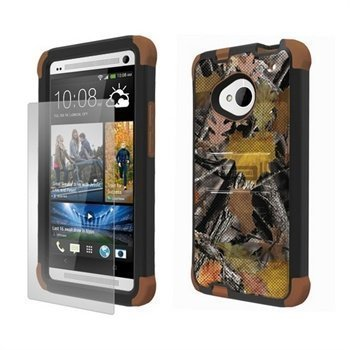 HTC One Beyond Cell Tri Shield Hybrid Kotelo Metsästäjän Suojaväri