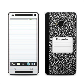 HTC One Composition Notebook Skin