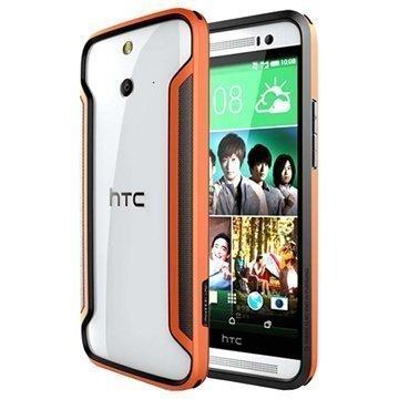 HTC One (E8) Nillkin Armor-Border Series Suojapuskuri Oranssi