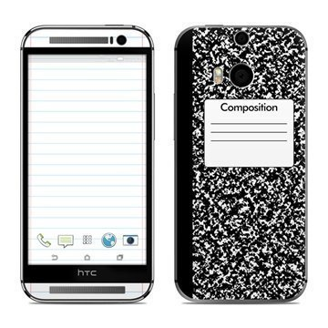 HTC One (M8) Composition Notebook Skin