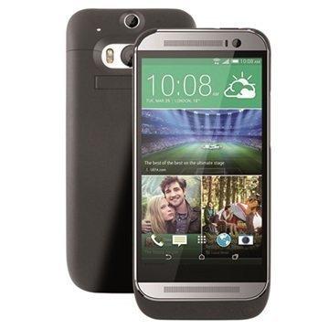HTC One (M8) Ksix Akkukotelo Musta