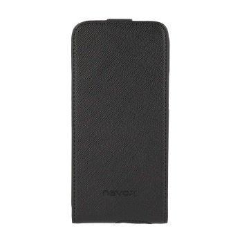 HTC One (M8) Nevox Relino Läppäkotelo Musta / Harmaa