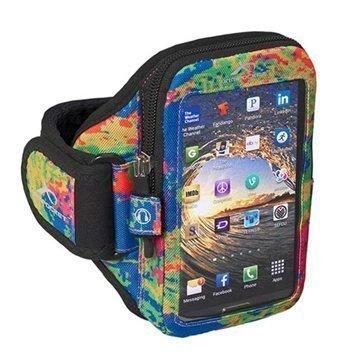 HTC One (M8) One (M8) Dual Sim Armpocket i-35 Käsivarsikotelo M Väriroiskeet