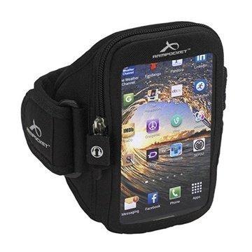 HTC One (M8) One (M8) Dual Sim Armpocket i-35 Käsivarsikotelo S Musta