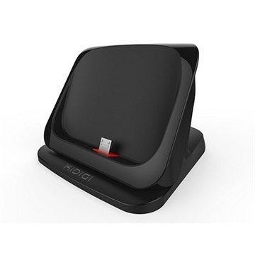 HTC One (M8) One (M8) Dual Sim KiDiGi Ultraohut Pöytälaturi Musta