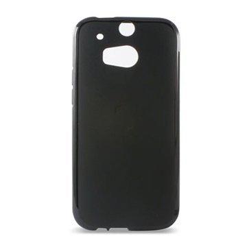 HTC One (M8) One (M8) Dual Sim Ksix TPU Kotelo Musta