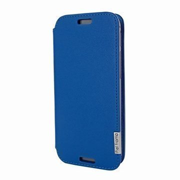 HTC One (M8) One (M8) Dual Sim Piel Frama FramaSlim Nahkakotelo Sininen