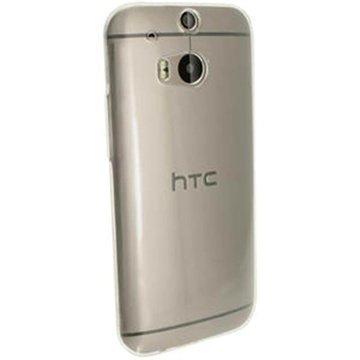 HTC One (M8) One (M8) Dual Sim iGadgitz TPU-Suojakotelo Kirkas