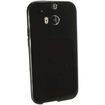 HTC One (M8) One (M8) Dual Sim iGadgitz TPU-Suojakotelo Musta