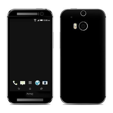 HTC One (M8) Solid State Black Skin