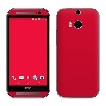 HTC One (M8) Solid State Red Skin