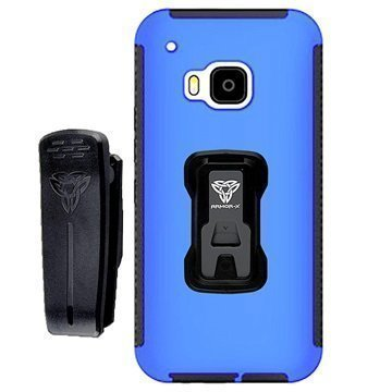 HTC One M9 Armor-X TX-HTC-M9 Rugged X-Mount Case Blue