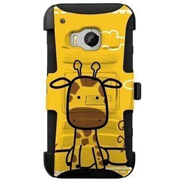 HTC One M9 Beyond Cell Armor Combo Design Kotelo Kirahvi