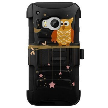 HTC One M9 Beyond Cell Armor Combo Design Kotelo Twinkle Stars