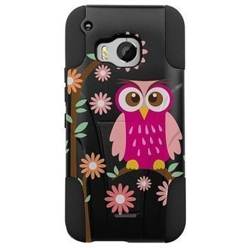 HTC One M9 Beyond Cell Hyber Shell Design Kotelo Daisy Owl