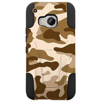 HTC One M9 Beyond Cell Hyber Shell Design Kotelo Desert Camouflage
