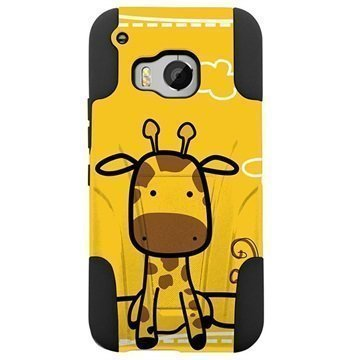 HTC One M9 Beyond Cell Hyber Shell Design Kotelo Giraffe