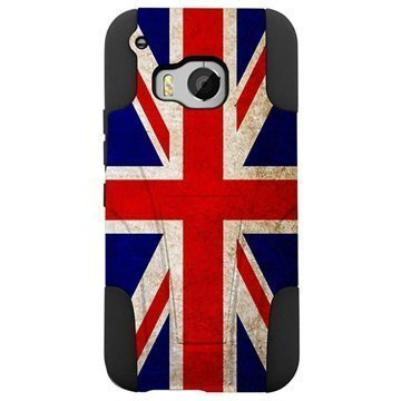 HTC One M9 Beyond Cell Hyber Shell Design Kotelo Union Jack