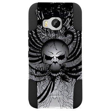 HTC One M9 Beyond Cell Hyber Shell Design Kotelo Wing Skull