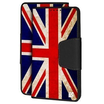 HTC One M9 Beyond Cell Infolio Design Lompakkokotelo Union Jack