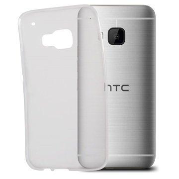 HTC One M9 Ksix Flex TPU Kotelo Läpinäkyvä