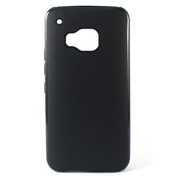 HTC One M9 Ksix Flex TPU Suojakuori Musta
