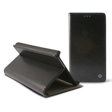 HTC One M9 Ksix Taitettava Kotelo Musta
