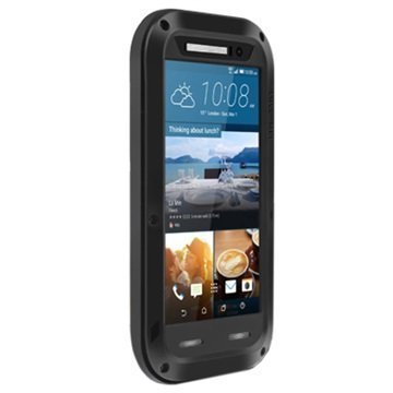 HTC One M9 Love Mei Powerful Hybrid Suojakuori Musta