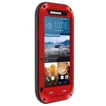 HTC One M9 Love Mei Powerful Hybrid Suojakuori Punainen