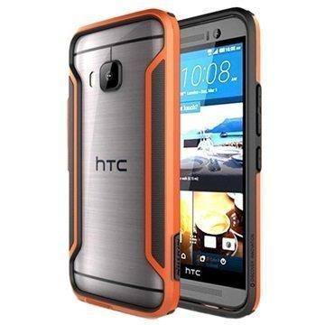 HTC One M9 Nillkin Armor-Border Series Suojapuskuri Oranssi