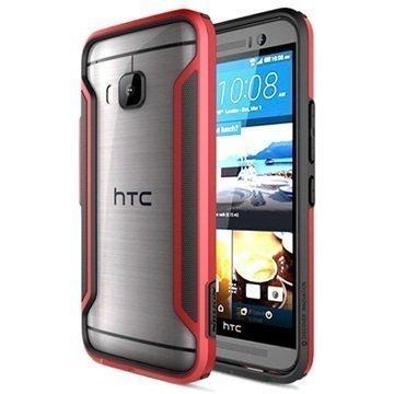 HTC One M9 Nillkin Armor-Border Series Suojapuskuri Punainen